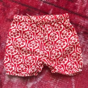 Mini Boden tree print shorts